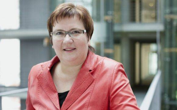 Iris Gleicke, Ministra de Economía de Alemania. Foto tomada de www.iris-gleicke.de.