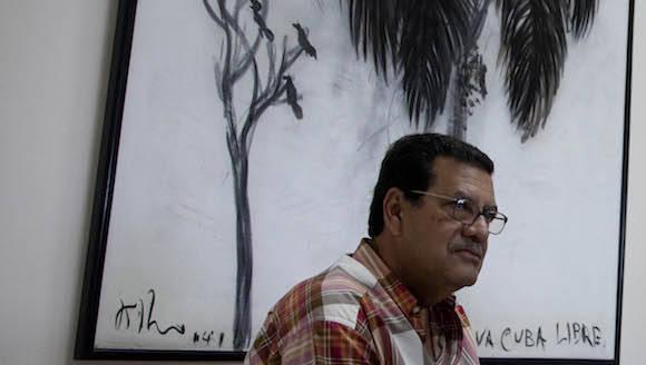 Jesús Arboleya en Cubadebate. Foto: Ismael Francisco/ Cubadebate