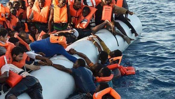 De acuerdo con la OIM, 3.777 personas murieron o desaparecieron en el Mediterráneo el año pasado. Foto Manuel Fernández.