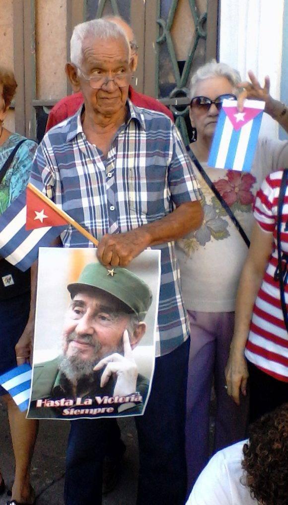 En Matanzas, esperando la llegada de las cenizas del Comandante