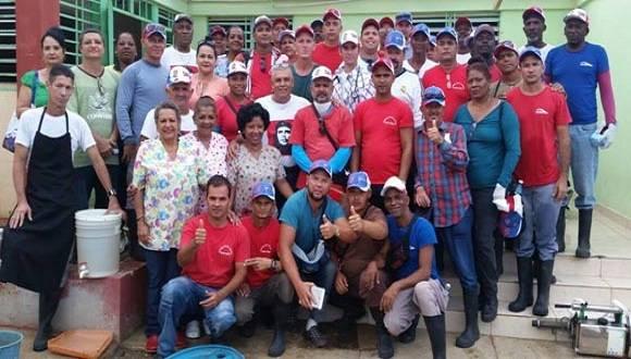 BrigadaMedicaCubana Henry Reeve en Haiti. Foto: Perfil en Facebook de Enmanuel Vigil Fonseca.
