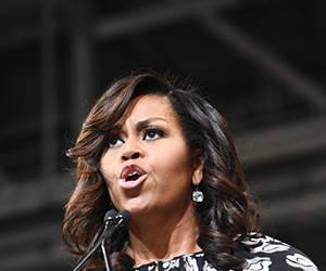 Michelle Obama. Foto: AFP.