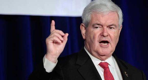 Newt Gingrich podría ser el nuevo secretario de Estado de EEUU. Foto: Reuters.