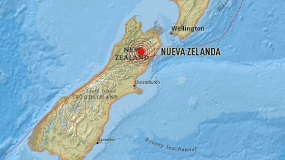Reportan sismos en República Dominicana, Argentina, Filipinas y Nueva Zelanda (+ Fotos)