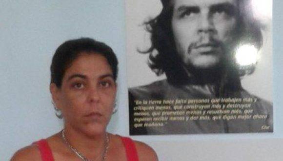 Adriana Moya González tiene en sus genes la televisión, que en su caso han fructificado en la producción. Foto: Portal de la Televisión Cubana.