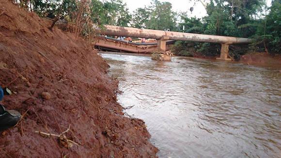 Holguín, Cuba: Derrumbe de puente en Moa deja cuatro fallecidos