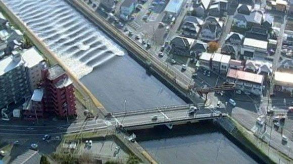Sin daños, tsunami en Japón