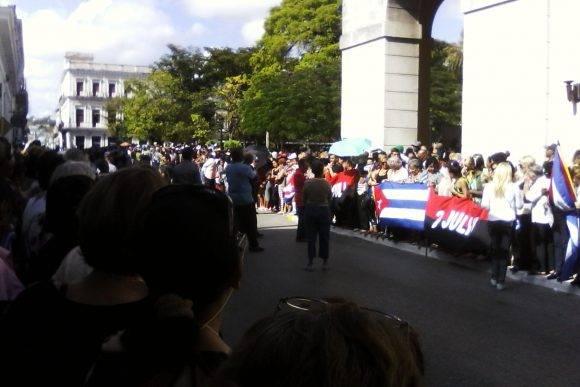 Trabajadores de la ONAT Provincial de Matanzas, foto Lilia Valdés