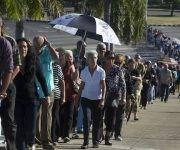 El adiós a Fidel estremece la Isla (Minuto a minuto)