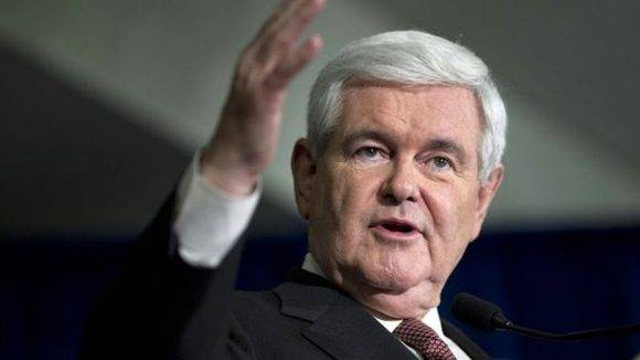 Gingrich podría ser el nuevo secretario de Estado. Foto: AP.
