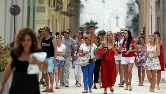 La cifra de visitantes de EE.UU. a Cuba subió a un 80 % en primer semestre