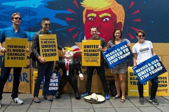 Unidos contra Trump, así responden los mexicanos a la victoria electoral del republicano. Foto: Agencias.
