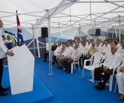 """Es un enorme gusto regresar a Cuba"", aseguró Paul Polman. Foto: Ismael Francisco/ Cubadebate"