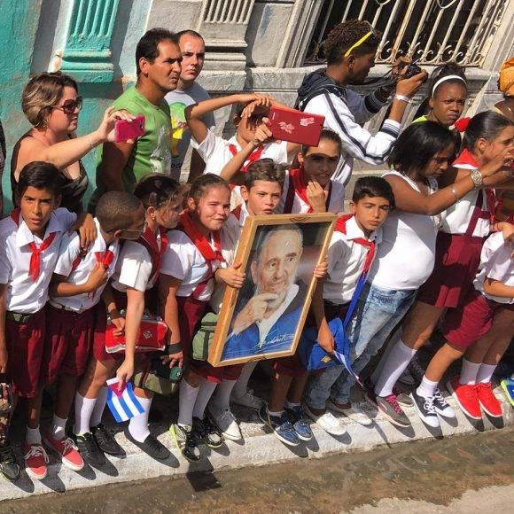 la Caravana de Tributo a Fidel