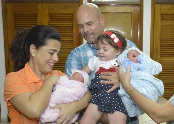 Adriana, Gerardo, Gema, Ámbar y Gerardito. Foto: Estudios Revolción