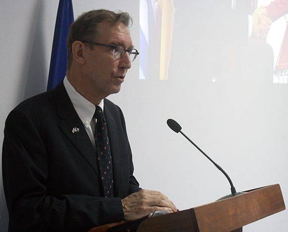 Alain Bothorel, ministro consejero de la delegación de la Unión Europea en Cubal. Foto: José Raúl Concepción/ Cubadebate.