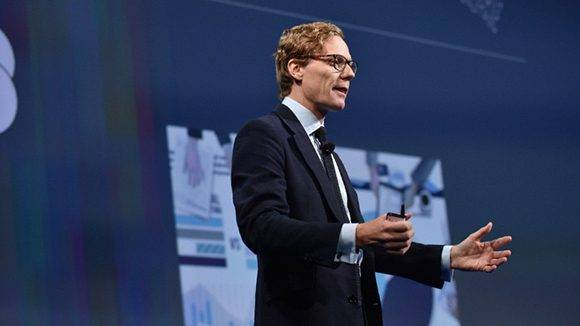 Alexander Nix, director ejecutivo de Cambridge Analytica. Foto: Bryan Bedder/ AFP.