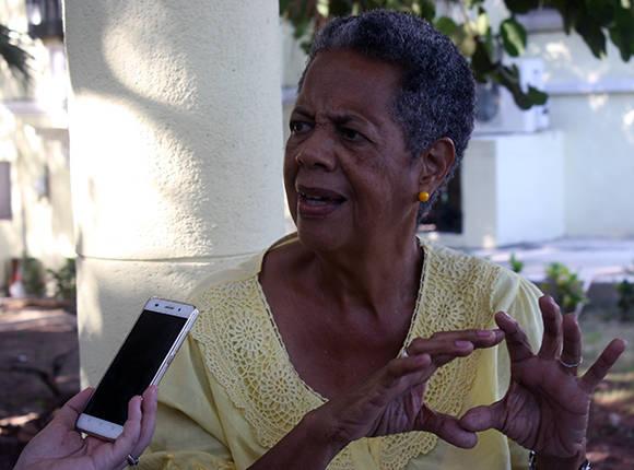 Elina Hernández Galarraga, alfabetizadora. Foto: José Raúl Concepción/ Cubadebate.