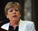 Alicia Bárcena, secretaria ejecutiva de la CEPAL. Foto: Archivo.