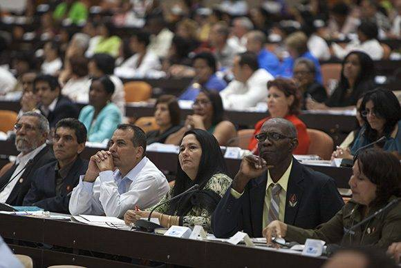 Diputados en la Asamblea Nacional del Poder Popular. Foto. Ladyrene Pérez/ Cubadebate.