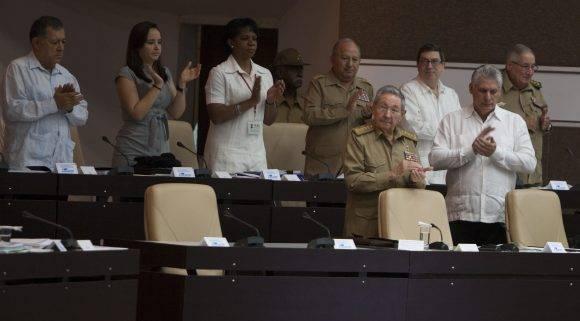El Parlamento sin el diputado Fidel. Foto: Ladyrene Pérez/ Cubadebate