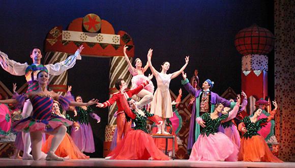 Ballet Nacional de Cuba lleva a escena Cascanueces. Foto tomada del sito oficial del BNC.
