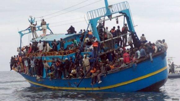El Mediterráneo es la ruta donde han muerto más migrantes en el año. Foto: Getty Images.