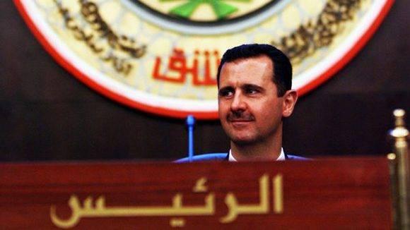 El gobierno de Bashar Al Assad (en la imagen) ha logrado expulsar a los grupos terroristas de varias localidades cercanas a Damasco. Foto. Reutres.