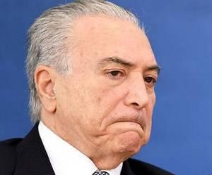 Michel Temer, presidente interino de Brasil. Foto: AFP.