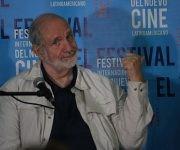El reconocido director de cine estadounidense, Brian de Palma, durante su conferencia en el Festival Internacional del Cine Latinoamericano. Foto: José Raúl Concepción/ Cubadebate.