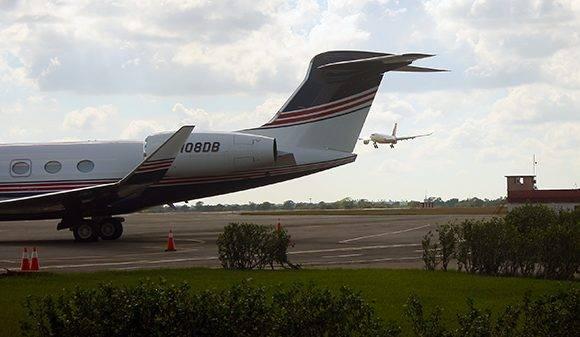 La terminal 5 del Aeropuerto Internacional José Martí fue el lugar de llegada. Foto: José Raúl Concepción/ Cubadebate.