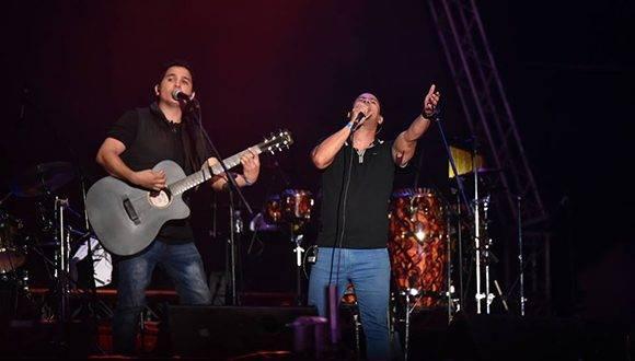 Buena Fe en un concierto reciente en Venezuela. Foto tomada de la página oficial en Facebook de la agrupación.