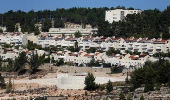 Asentamiento ilegal en Jerusalén. Foto tomada de Al Mayadeen.