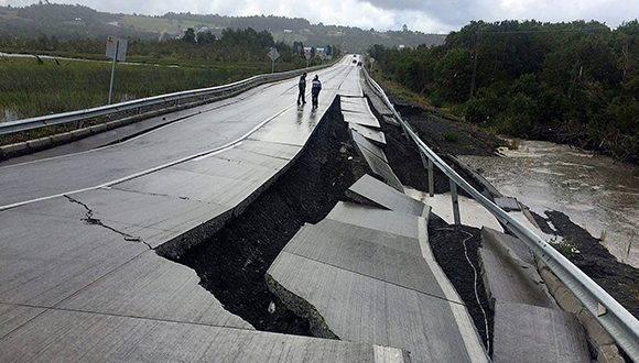Terremoto de 7,6 en Chile. Hay alerta de tsunami. Foto: Stringer Reuters.