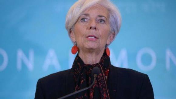 Christine Lagarde. Foto: BBC.