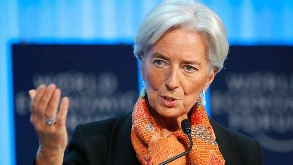Christine Lagarde. Foto tomada de Hoy.