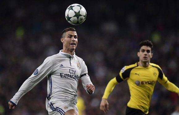 Cristiano sigue a dos goles de los 100 en competición europea y con 96 en Champions. Tuvo una oportunidad clara pero envió el balón al palo. Foto: AFP.