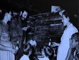Fidel en la Cena Carbonera.