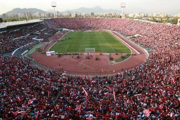 Estadio Nacional de Santiago de Chile. Foto tomada de InfoCancha.