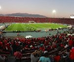 Bildnummer: 14787197  Datum: 15.10.2013  Copyright: imago/Photosport Football, Chile. World Cup 2013, qualifying match. Panoramic view before the World Cup 2013 qualifying football match held at Nacional stadium in Santiago, Chile. 15/10/2013 - Football, Chile. PUBLICATIONxINxGERxSUIxAUTxHUNxONLY; Fussball Nationalteam Länderspiel WM Quali Sportstätte xas x1x 2013 quer  o0 Stadion Totale  Image number 14787197 date 15 10 2013 Copyright imago  Football Chile World Cup 2013 Qualifying Match Panoramic View Before The World Cup 2013 Qualifying Football Match Hero AT Nacional Stage in Santiago Chile 15 10 2013 Football Chile PUBLICATIONxINxGERxSUIxAUTxHUNxONLY Football National team international match World Cup Qualif venues xas x1x 2013 horizontal o0 Stadium long shot