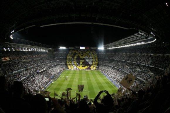 Estadio Santiago Bernabéu, donde hace las veces de local el equipo blanco. Foto: Marca.
