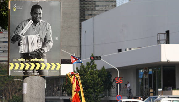 """""""Mi Rollo, Mi Película"""", fue la idea que guió la campaña de comunicación en el 38 Festival Internacional del Nuevo Cine Latinoamericano, también conocido como Festival de Cine de La Habana. Foto: José Raúl Concepción/ Cubadebate. Foto: José Raúl Concepción/ Cubadebate."""