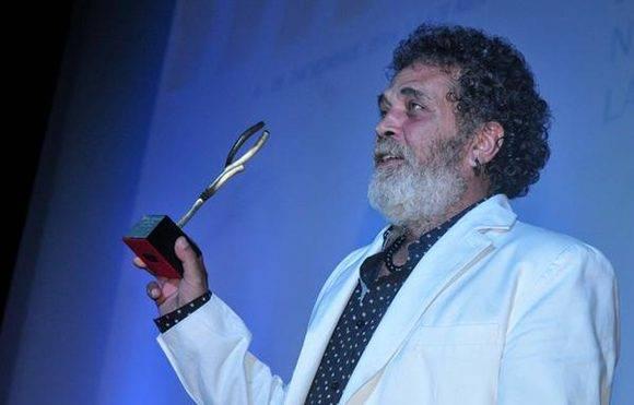 El cubano Luis Alberto García, actor del filme