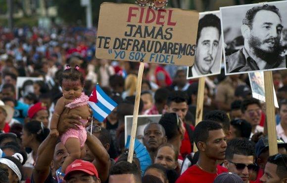 el Acto de Tributo a Fidel en Santiago de Cuba