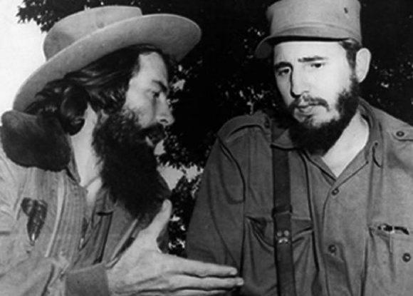 Fidel y Camilo en Bayamo.