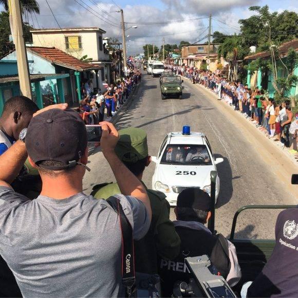La Caravana en Guáimaro. Foto: Ladyrene Pérez / Cubadebate