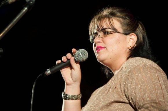 Cantante del Grupo Yaguar. Silvio en San Antonio. Foto: Iván Soca