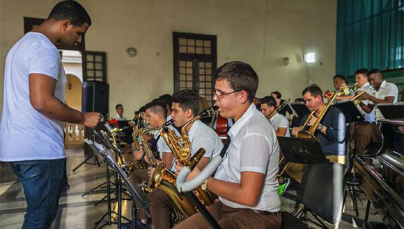 Jazz Band del Conservatorio Amadeo Roldán. Foto: Archivo.