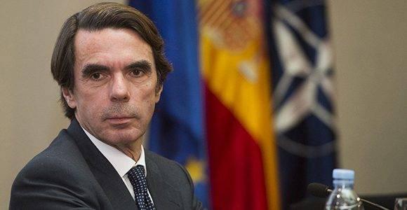 El político español José María Aznar fue una de las voces más influyentes para que la Unión Europea aprobara la posición común contra Cuba. Foto: Sitio web de J. M. Aznar.