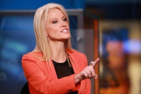 Kellyanne Conway. Foto: CNBC.